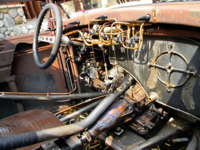 Mike Partyka's 1931 Ford Model A Pickup ~ Interior