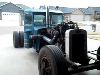 Peterbilt Semi-Truck Rat Rod Build