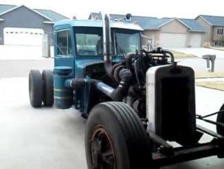 Peterbilt Semi-Truck Rat Rod Build