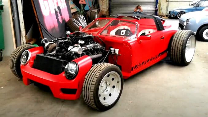 Porsche 911 V8 Hot Rod