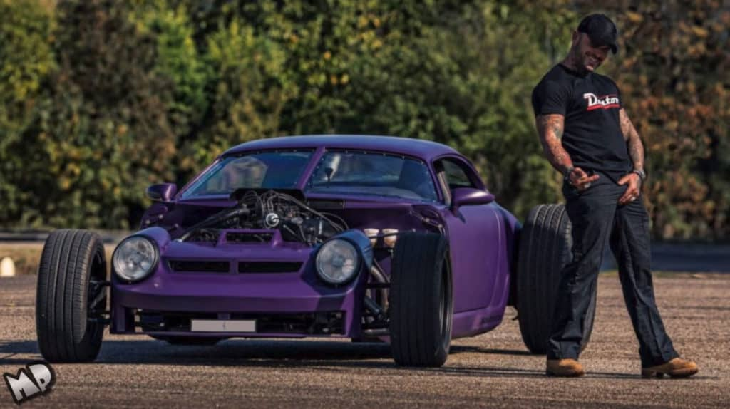 Porsche 911 V8 Hot Rod Build
