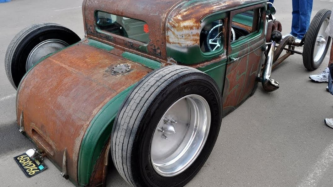 Rat Rod Ideas Rims And Tires