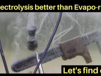 Rust Removal Electrolysis vs Evapo-Rust