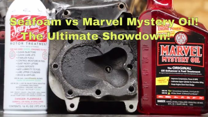 Seafoam vs Marvel Mystery Oil ~ The Ultimate Showdown!