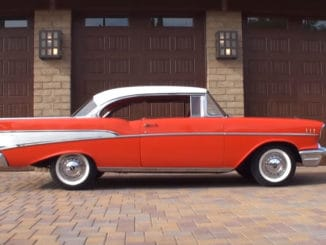 Survivor ~ 1957 Chevrolet Bel Air on Original Tires