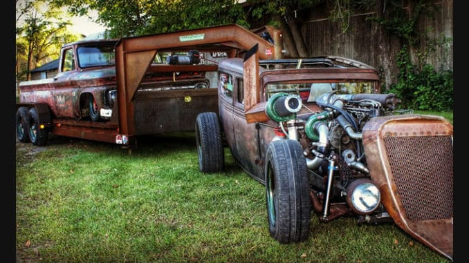 Cummins Diesel Rat Rod Build