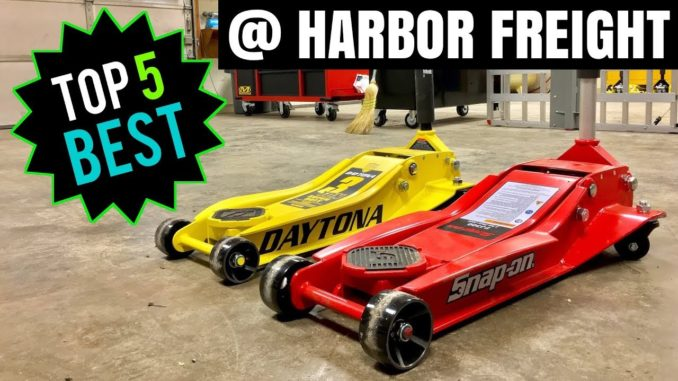 Top 5 Best Automotive Tools from Harbor Freight