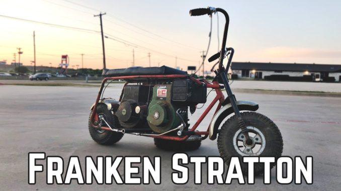 Twin Engine Rat Rod Mini Bike Build Franken Stratton