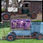 Upside-Down ~ 1946 Ford 1 Ton Rat Rod Truck Build