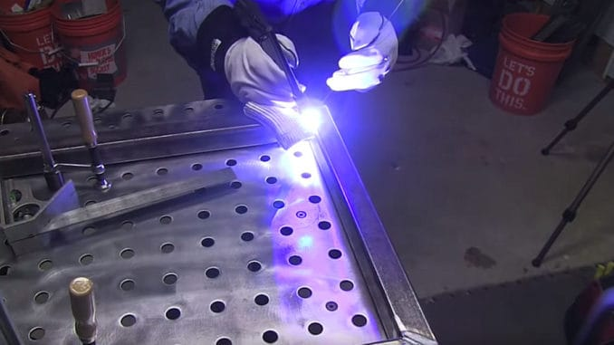 Welding Distortion ~ Tips for Keeping it Square