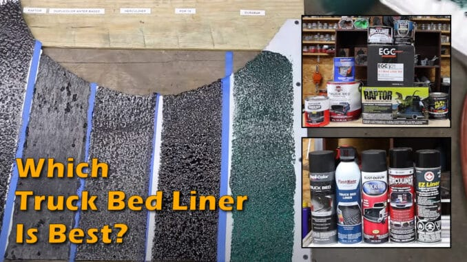 Which Truck Bed Liner Brand Is Best?