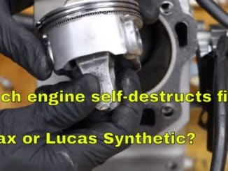 Zmax vs Lucas Synthetic ~ Which Engine Self-Destructs First?