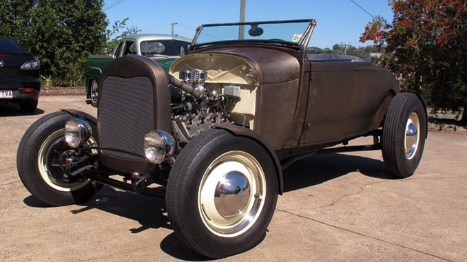1928 Ford Model A Roadster Project