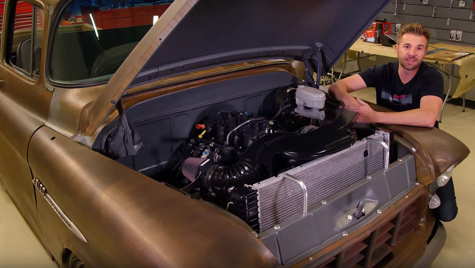 1955 Chevy Pickup And Tahoe Chassis Swap