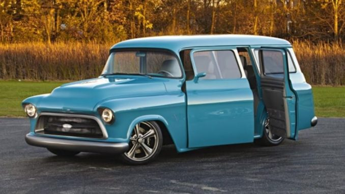1957 Chevrolet Suburban RestoMod Project