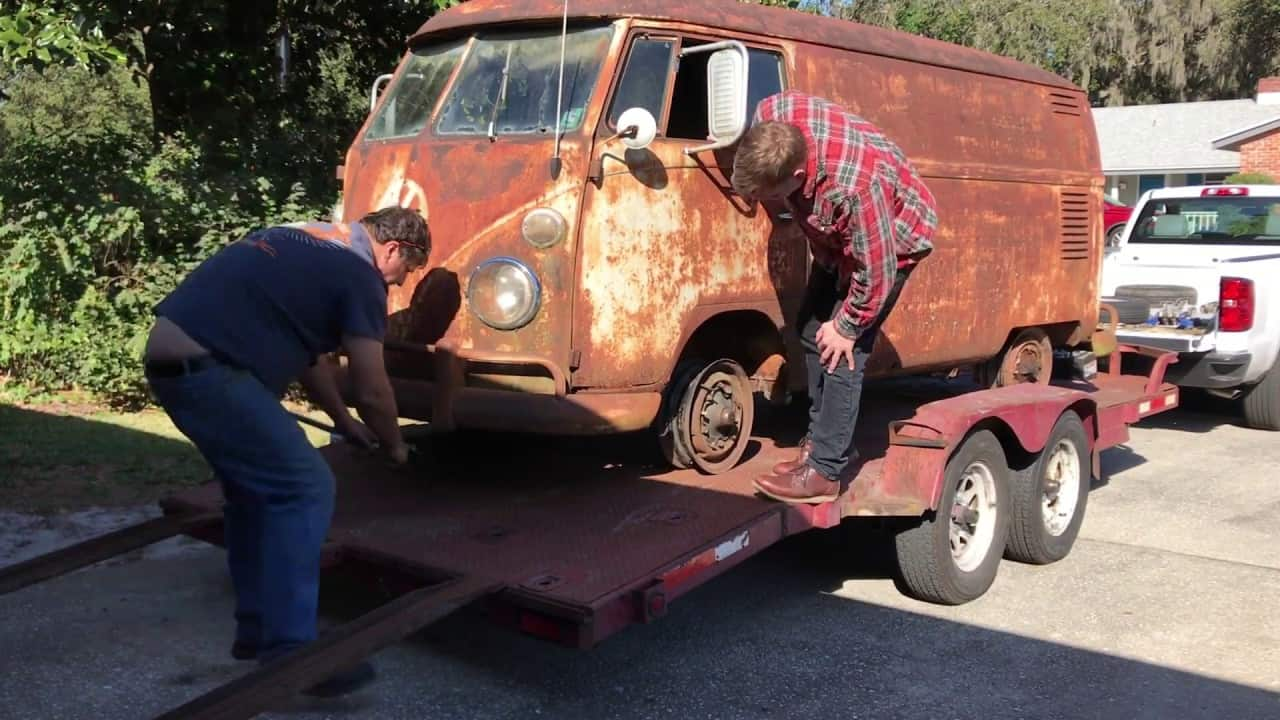 1962 Volkswagen Van Craigslist Find And Resurrection