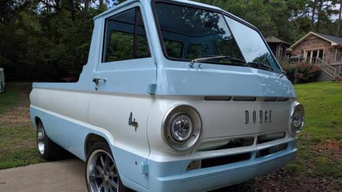 1965 Dodge A100 Pickup Restoration Project