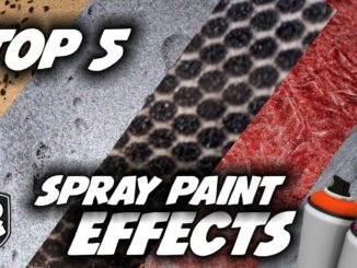5 Super Easy Spray Paint Tricks and Effects