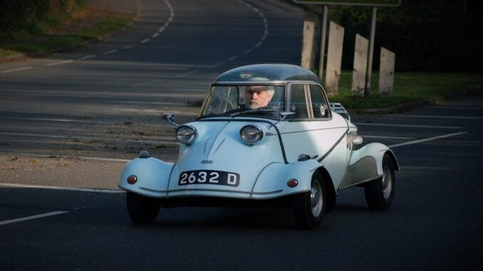 A Collection of Classic Bubble Top and Micro Cars