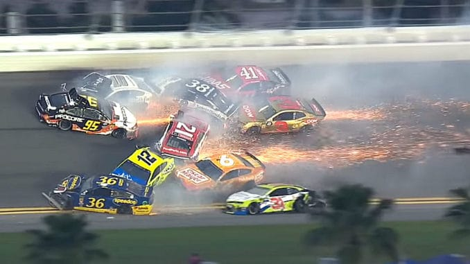 All of the Crashes from the 2019 Daytona 500
