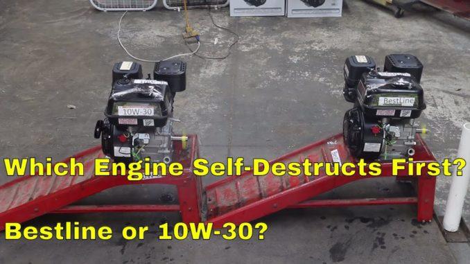 Bestline vs 10W-30 ~ Which Engine Self-Destructs First