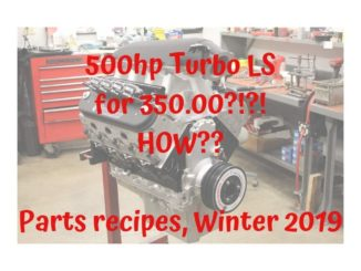 Budget LS Engine Build Recipes