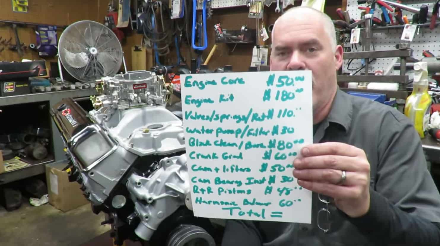 Extreme Budget Small Block Chevrolet Engine for Under $700