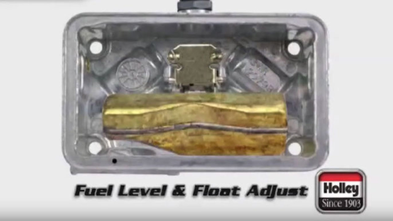 How To Adjust Fuel and Float Level on Holley Carburetors