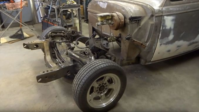How To Graft a Sub-Frame ~ Front Clipping a Hot Rod