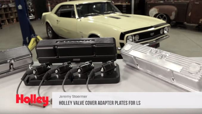 How To Install Holley LS Engine Valve Cover Adapter Plates