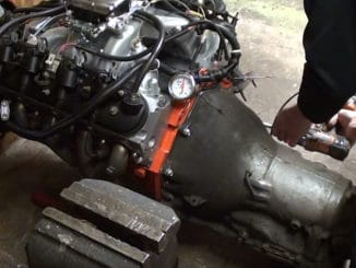 How To Mount a 6.0 Liter LS Engine to an Older GM TH350 Transmission