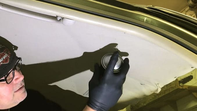 How To Repair A Sagging Headliner