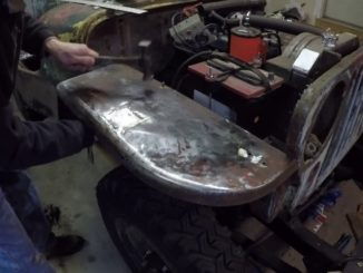How To Shrink Stretched Sheet Metal with a Propane Torch