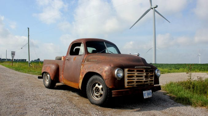 R/T BAKER ~ A 360 Magnum Swapped Studebaker Pickup