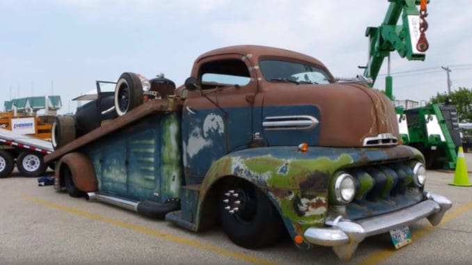 Rat Rod Ramp Trucks and Car Haulers