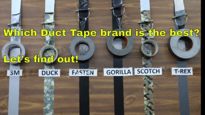 Which Duct Tape Brand is the Best?