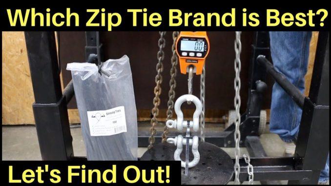 Which Zip Tie Brand is the Best