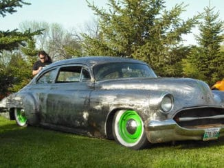 1950 Chevrolet Deluxe Chop Top Bare Metal Build