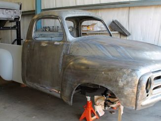 1955 studebaker e series pro-touring pickup truck build