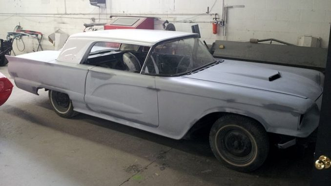 1959 Ford Thunderbird Restoration Project