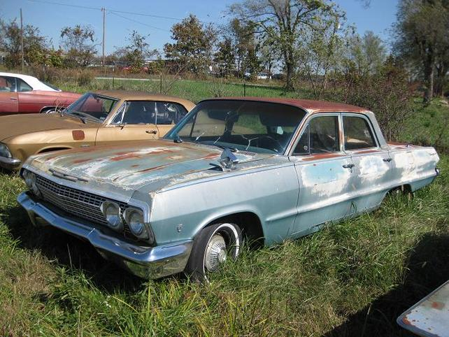 1963 Chevrolet Biscayne 230 Project