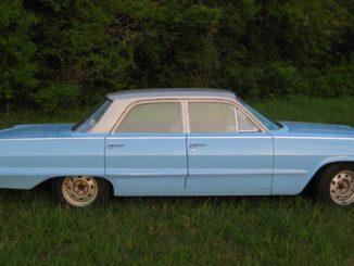 1963 Chevrolet Biscayne 230 Restoration