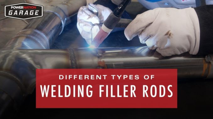 5 Common Types of TIG Welding Filler Rods