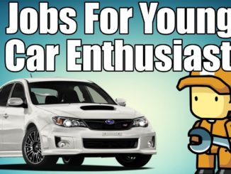 7 Jobs For Young Car Enthusiasts