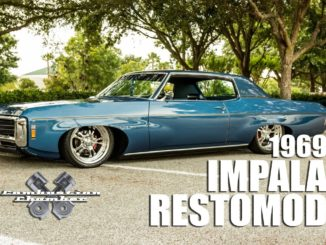 BAGGED ~ 1969 Chevrolet Impala RestoMod