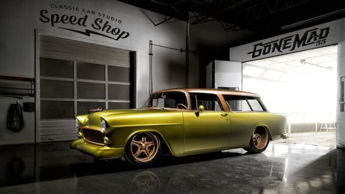 Custom Built 1955 Chevrolet Nomad Wagon