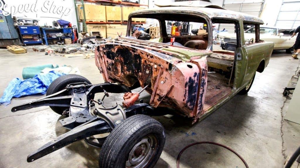 Custom Built 1955 Chevrolet Nomad Wagon