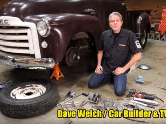 DIY Front Disc Brake Conversion for 1947-59 Chevy and GMC Trucks