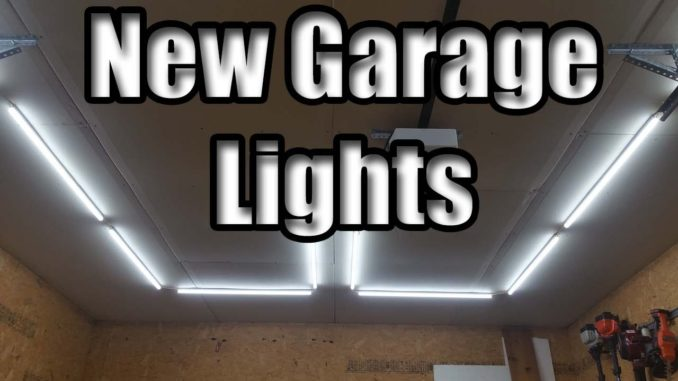DIY Garage LED Light Install - Barrina LED Light Review