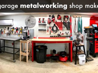 DIY Metalworking Shop Makeover and Garage Organization